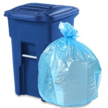 64 gallon toter compatible trash bags toter 01blu
