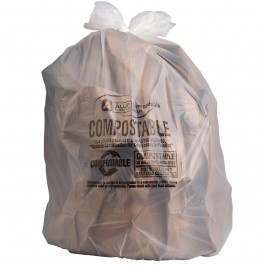 Sample Of 40-45 Gallon Compostable Trash Bags