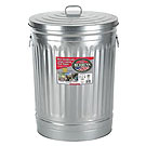 31 Gallon Galvanized Trash Can