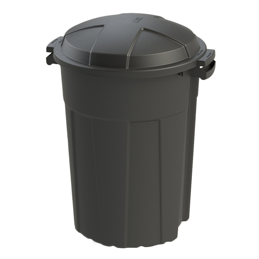 32 Gallon Blue Hawk Trash Can