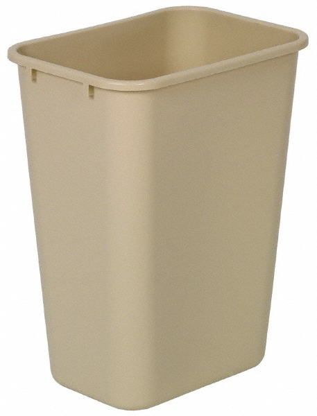 10 Gallon Commercial Plastic Wastebasket