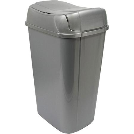 13 Gallon Hefty Pivot Lid Trash Can