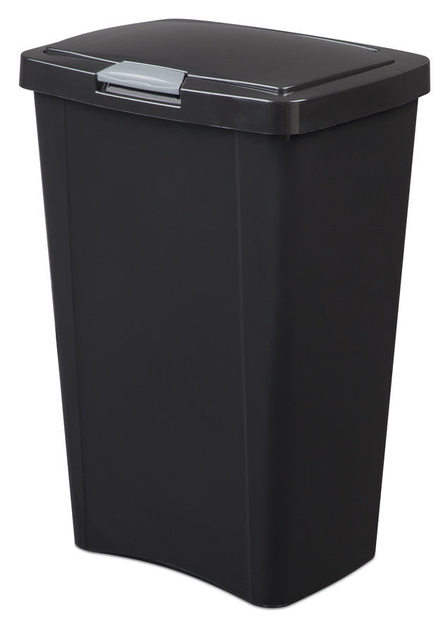 13 Gallon Sterilite TouchTop Wastebasket
