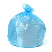 Blue Trash Bags